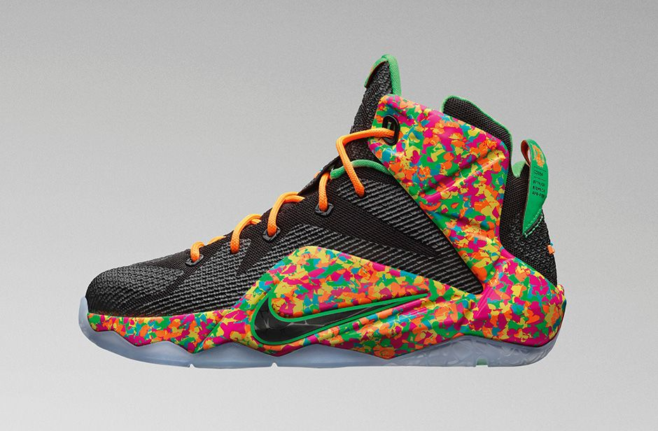 Lebron 12 GS Cereal
