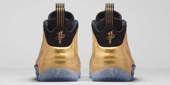 Nike Air Foamposite One 'Metallic Gold' 3