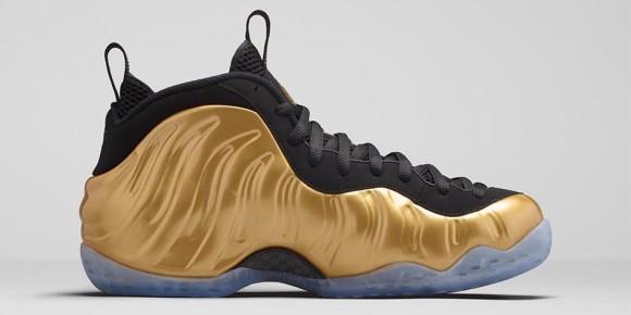 Nike Air Foamposite One 'Metallic Gold' 4
