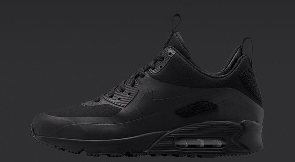 Nike Air Max 90 SneakerBoot Patch Pack Black