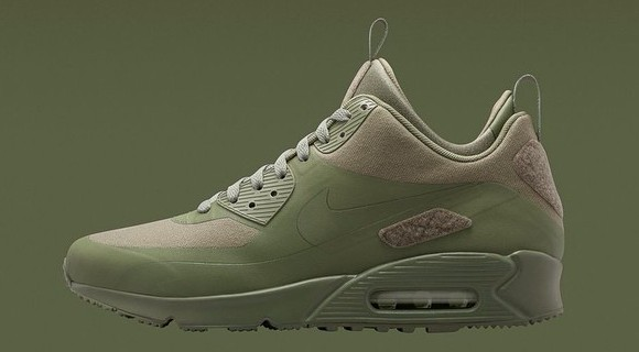 Nike Air Max 90 SneakerBoot Patch Pack Khaki