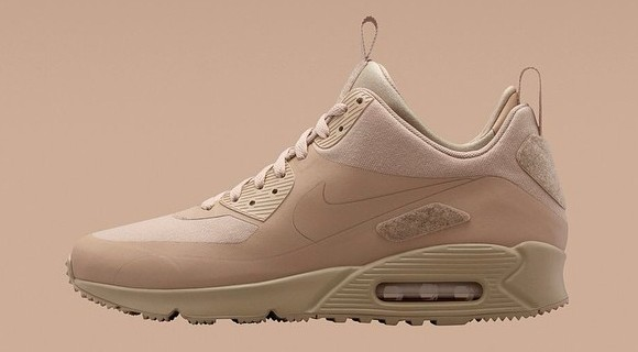 Nike Air Max 90 SneakerBoot Patch Pack Sand