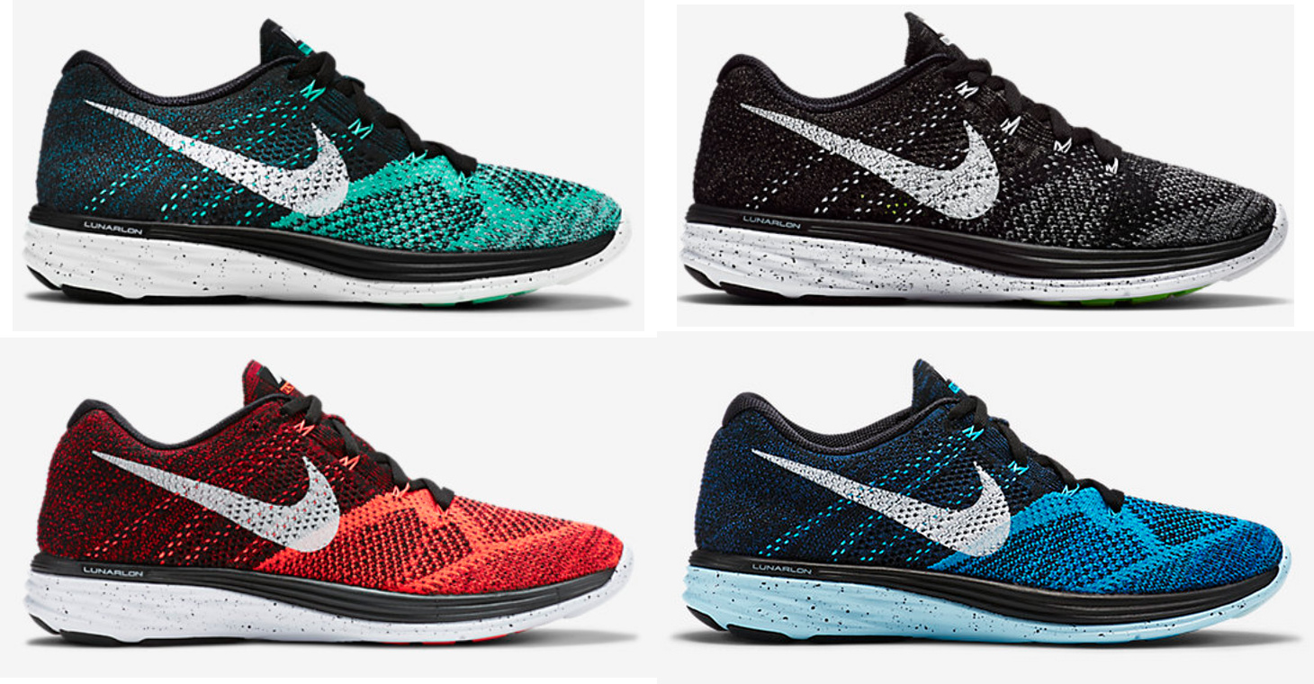 wholesale dealer 6eeba 810f0 Nike Flyknit Lunar 3 - New Colorways Available Now - WearTesters