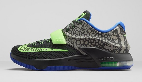 Nike KD 7 'Electric Eel' 1