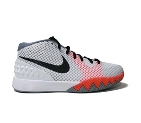 Nike Kyrie 1 GS White Orange – Grey 1