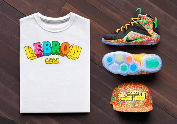 Nike LeBron 12 GS 'Fruity Pebbles' 2