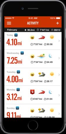 Nike+ Running App 20