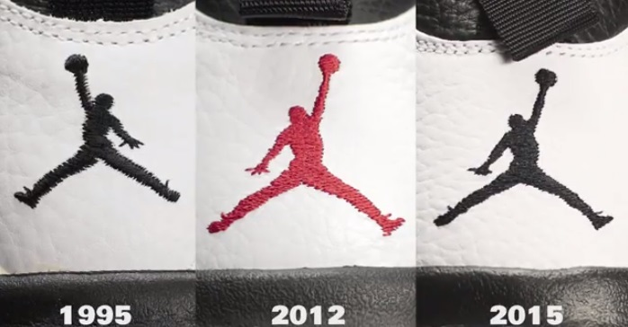 OG Air Jordan X 'Chicago' Vs. '12 Retro Vs. '15 Remastered