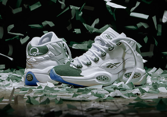 Reebok Question Mid 'Michigan State' - Official Look + Release Info 1
