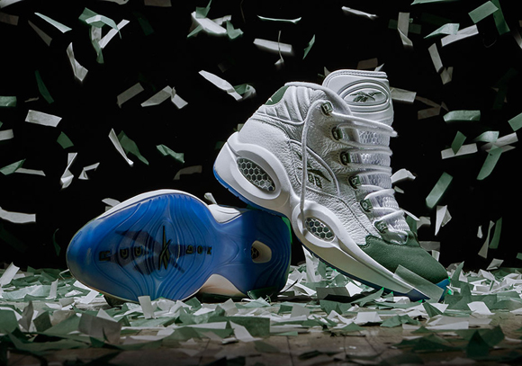 Reebok Question Mid 'Michigan State' - Official Look + Release Info 4