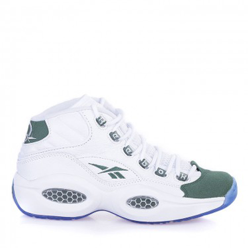 Reebok Question Mid White Green - Available Now 1