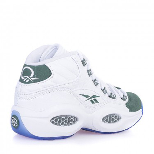 Reebok Question Mid White Green - Available Now 2