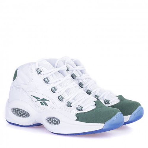 Reebok Question Mid White Green – Available Now Main