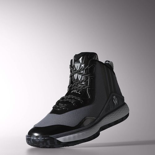 adidas J Wall 1 Now Available in Black Grey 2