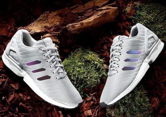 adidas ZX Flux 'Xeno' Grey reflective