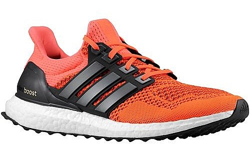 adidas men's ultra boost Solar Red