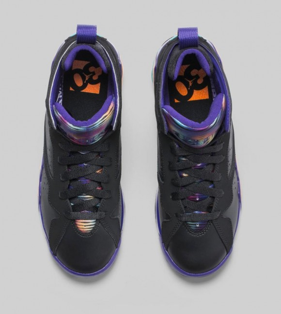 exclusive range professional sale cute cheap Air Jordan 7 Retro 'Lola Bunny' upper view - WearTesters