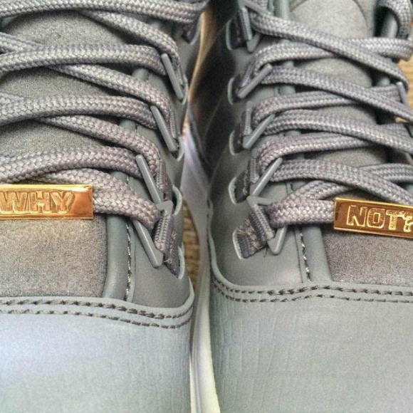 Air Jordan Westbrook 0 grey lace locks why not