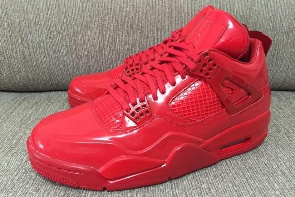 All-Red Air Jordan 11Lab4 Retro 3