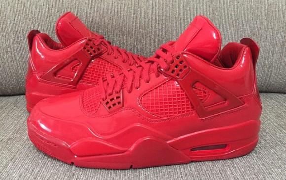 All-Red Air Jordan 11Lab4 Retro 4