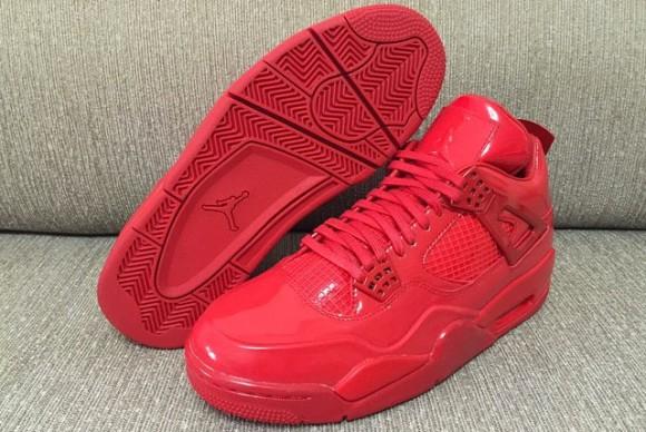 All-Red Air Jordan 11Lab4 Retro 5