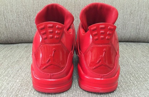 All-Red Air Jordan 11Lab4 Retro 7