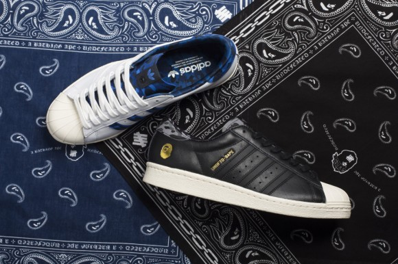 Complex Gets The Scoop on The Upcoming Undefeated x BAPE x adidas Collab 1