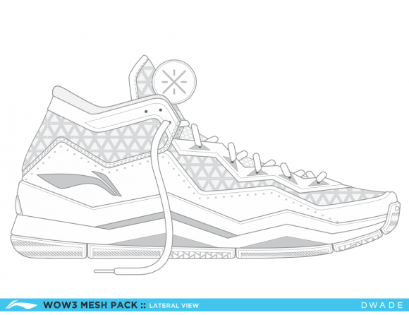 Design Your Own Way of Wade 3 in this #MakeYourOwnWOW Contest