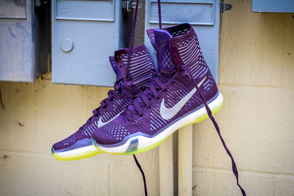 Get a Detailed Look at the Nike Kobe X Elite 'Team Collection'  1