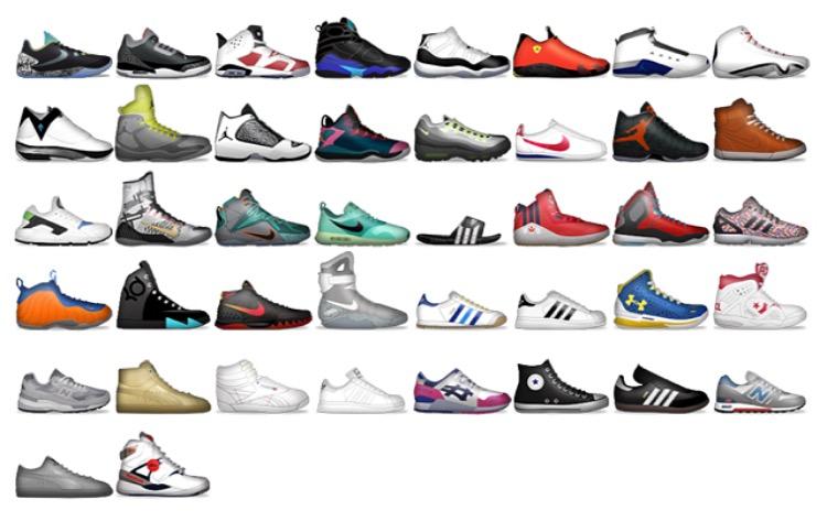 New Foot Locker App Features Shoe