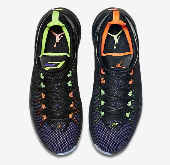 Jordan CP3.VIII AE 'Jekyll and Hyde' upper birds eye view