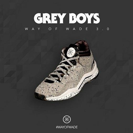 Li-Ning Way of Wade 3 'Grey Boys' – Release Info