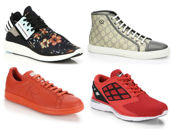Lifestyle Deals Designer Sneakers at Saks Fifth Avenue