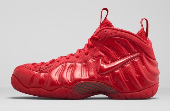 Nike Air Foamposite Pro 'Gym Red' lateral side