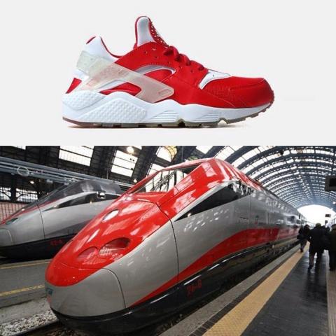 Nike Air Huarache City Pack Milan Train
