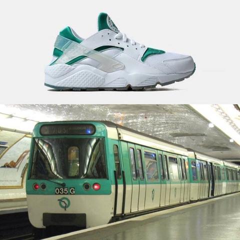 Nike Air Huarache City Pack Paris Train