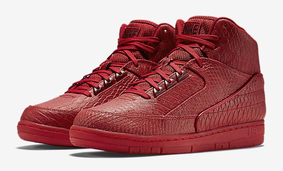 Nike Air Python all red october