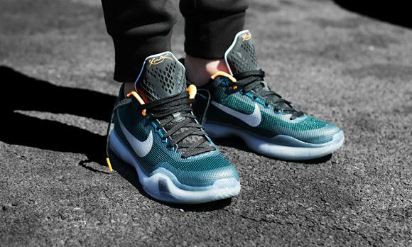 Nike Kobe X 'Flight' On-Foot Look 1