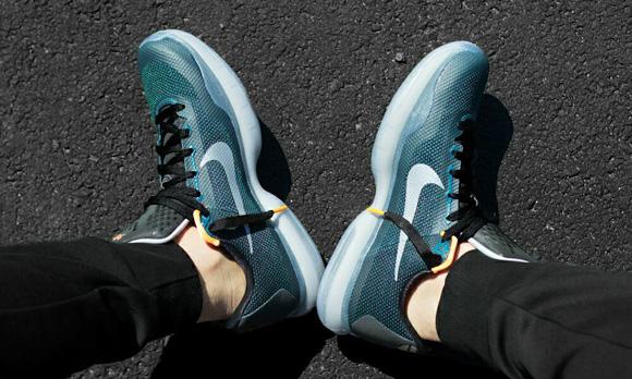 Nike Kobe X 'Flight' On-Foot Look 2