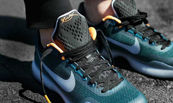 Nike Kobe X 'Flight' On-Foot Look 3