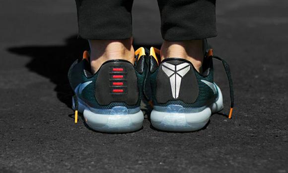 Nike Kobe X 'Flight' On-Foot Look 4