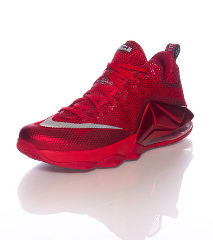 Nike LeBron 12 Low 'All-Red' side