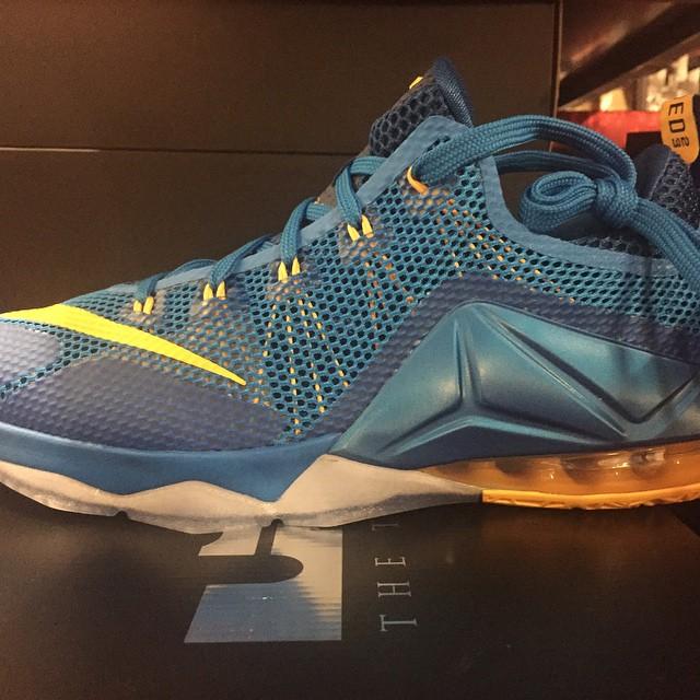 Nike LeBron 12 Low 'Photo Blue