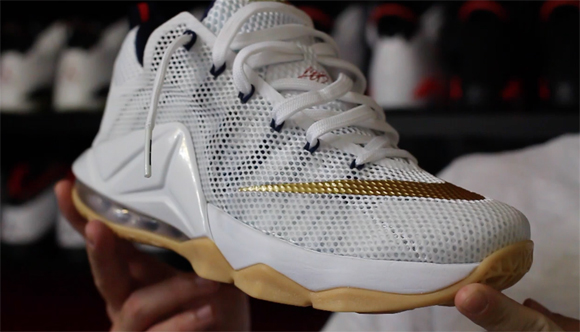 Nike LeBron 12 Low 'USA' – Detailed Look & Review