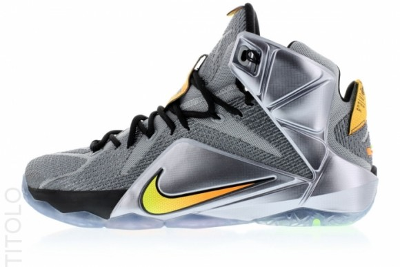 Nike LeBron 12 XII Flight lateral side