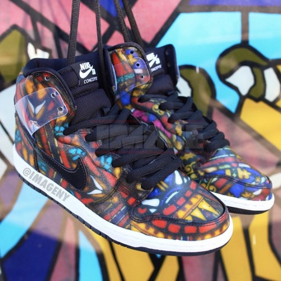 Nike SB Dunk High 'Stained Glass' 2