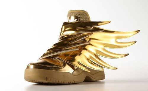 adidas Originals JS Wings 3.0 'Gold Metallic' 3