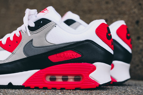 2015 Nike Air Max 90 'Infrared' WearTesters