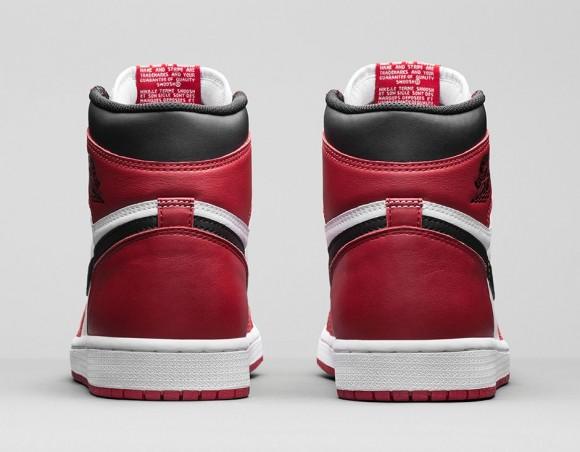 Air Jordan 1 Retro High OG 'Chicago' - Official Look + Release Info 5