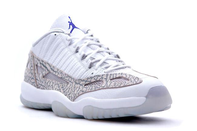Air Jordan 11 Low IE Retro White: Cobalt Blue to Make a Remastered Return